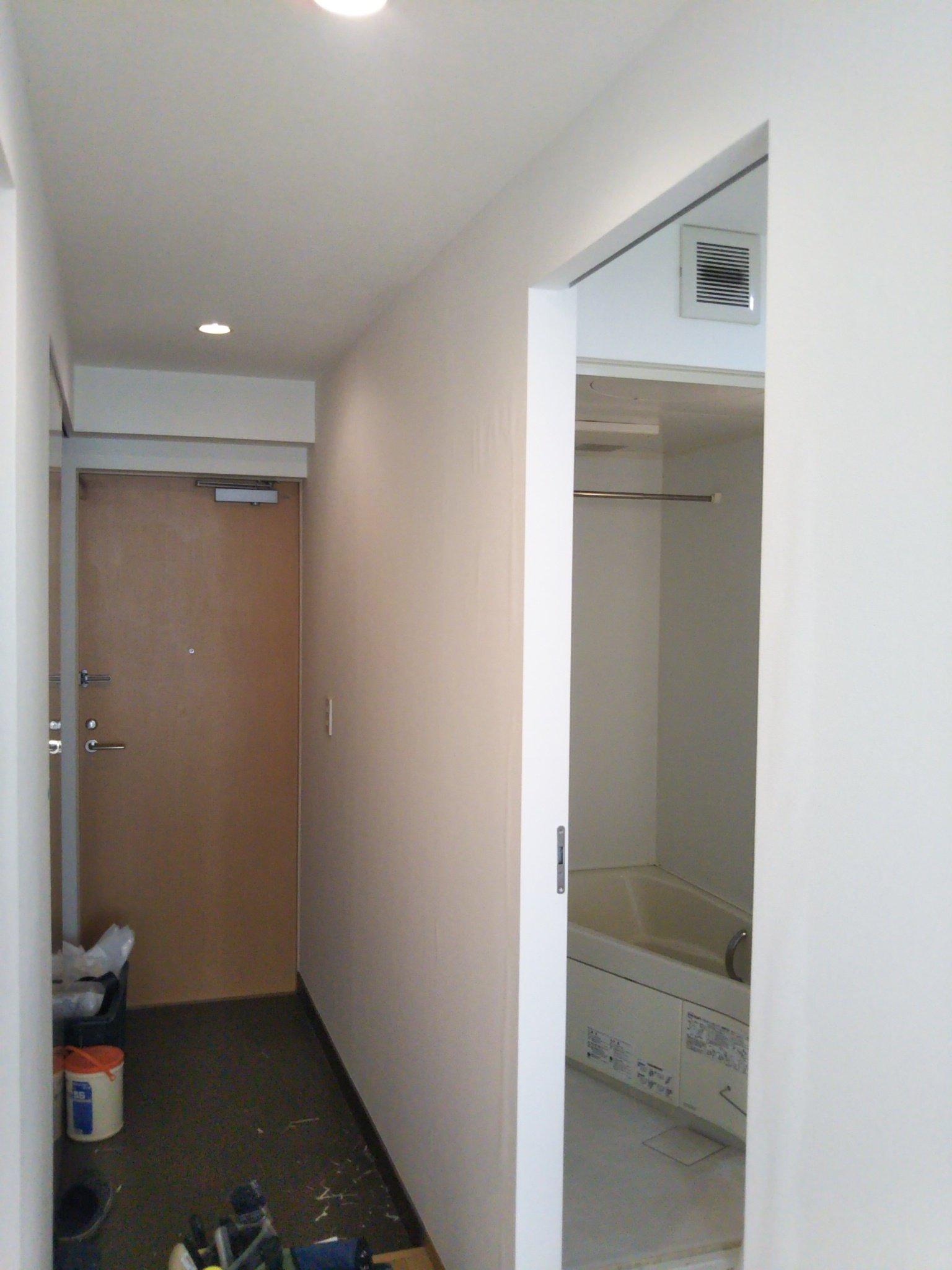 渋谷区代々木 賃貸アパートの壁紙補修 壁紙なら北区赤羽インテリア