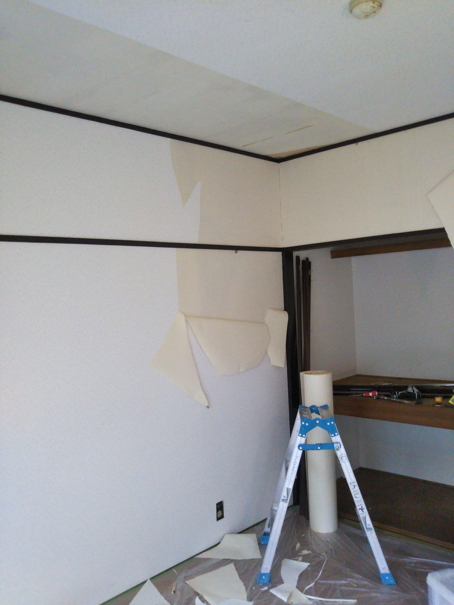 中野区中野 賃貸アパートのクロス張替え 壁紙なら北区赤羽インテリア